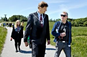 Her laver jeg en Walk & Talk med Jesper Würtzen, Ballerups borgmester og min barndoms håndboldkammerat. Jesper har fået kæde på og jeg har fået flere deller siden sidst. Gåturen gav os mulighed for at catche op på hinanden, på en dejlig uformel måde.